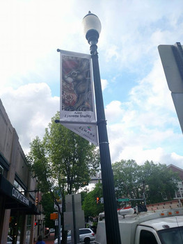 Lamp Post Banner Project