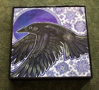 Winter Raven