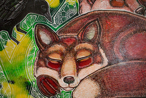 Dreaming Foxes by Lynnette Shelley