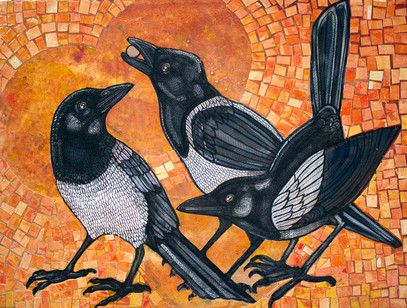 Three Magpies