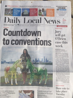The Daily Local front cover