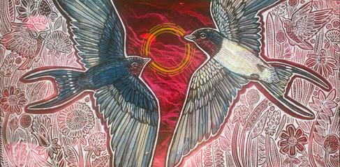 Confluence (Barn Swallows)