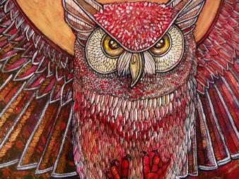 The Hunter (Great Horned Owl)