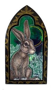 Wild Rabbit on the Green
