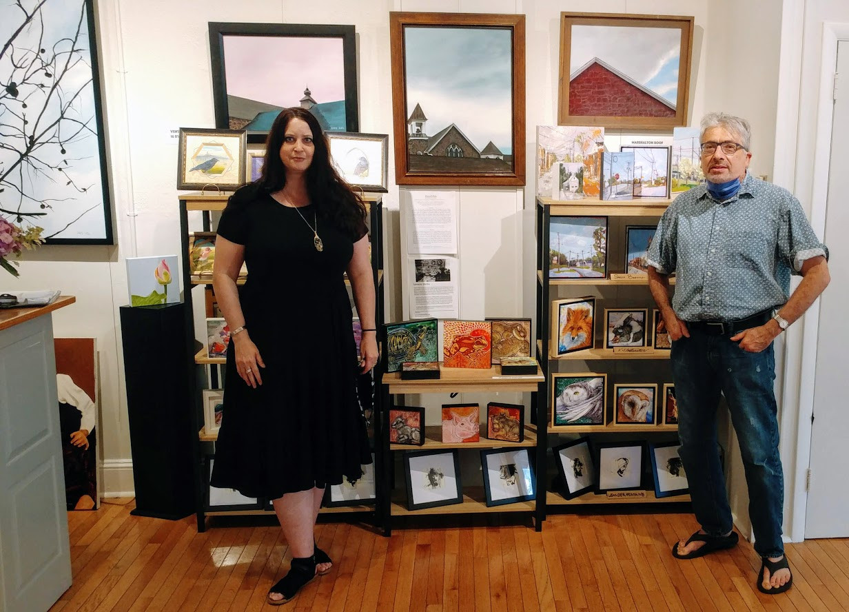 Artists Lynnette Shelley and David Katz