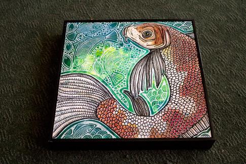 Koi Fish Swirl
