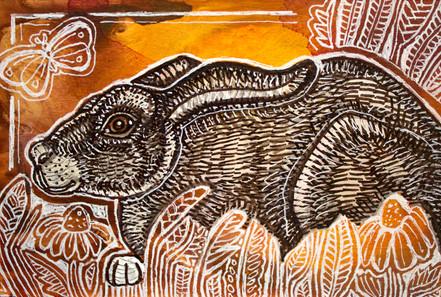 Crouching Rabbit