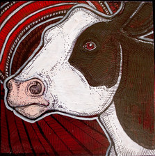 Cow and Moon
