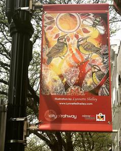 Rahway, NJ, art banner