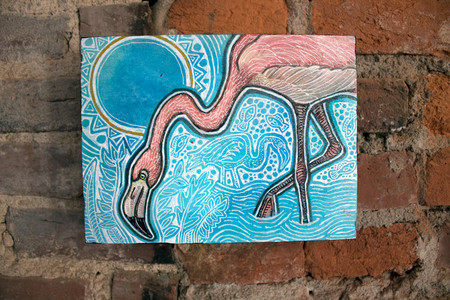 Blue Skies for a Pink Flamingo