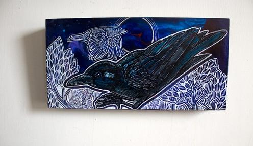 Crouching Crow