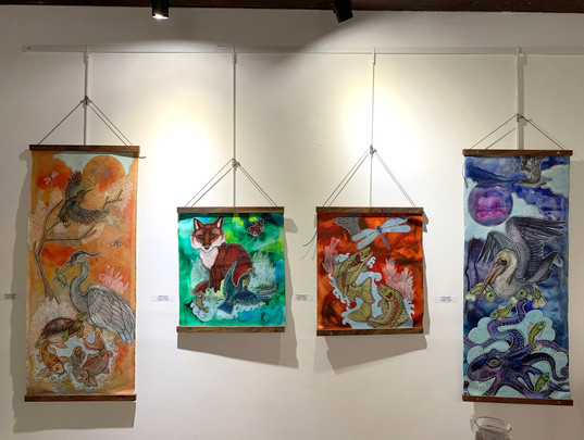 Lynnette Shelley's artwork at Deja 42 Gallery in Philadelphia