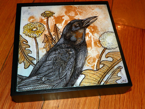 Dandelion and Crow