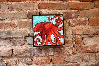 Little Red Octopus
