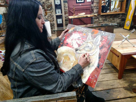 Artist Lynnette Shelley