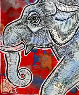 Traveling Elephant