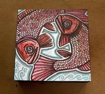 Double Fish Swirl