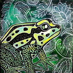 Frog and Flora