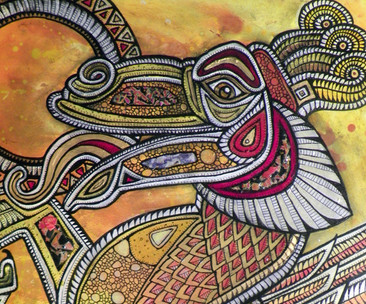 The Sun Eater (Dragon Devouring the Sun)