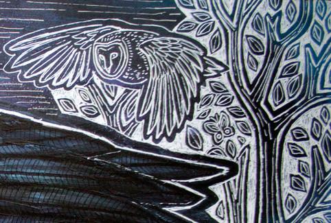 Crow In The Night Garden