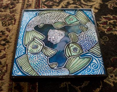 Triple Fish Swirl