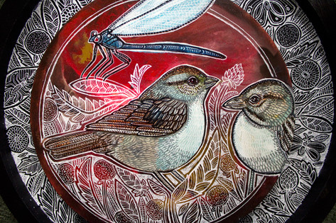 Sparrow Song (Detail)