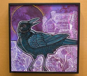 Farmhouse Crow