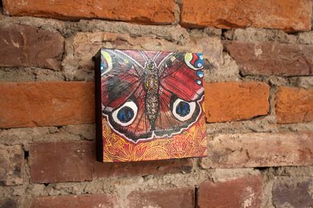 Aglais Io (Peacock Butterfly)