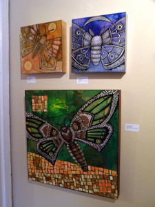 moth / insect art