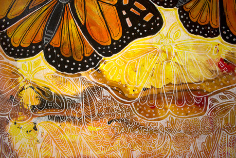 Flight of the Monarch (detail)
