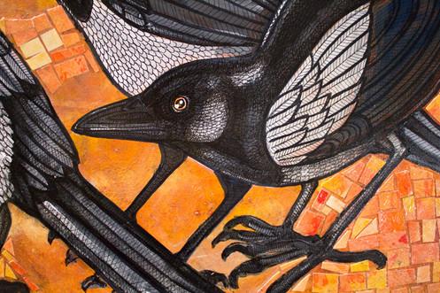 Three Magpies
