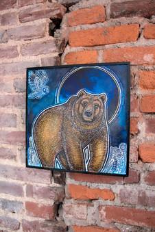 Bear and Blue Moon