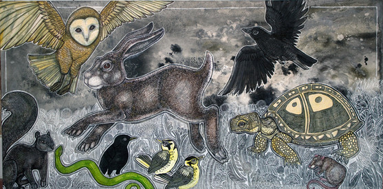 Race Day (The Hare and the Tortoise)