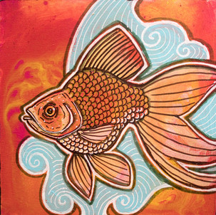 Gold Fantail