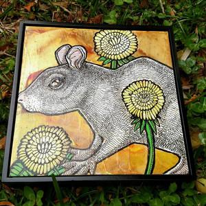 Dandelion and Rat