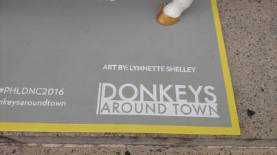 Donkeys Around Town