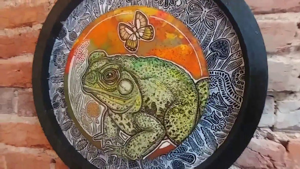 Toad Song by Lynnette Shelley