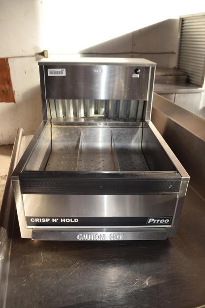 Pitco PCC18 Crisp N Hold Countertop Food Station