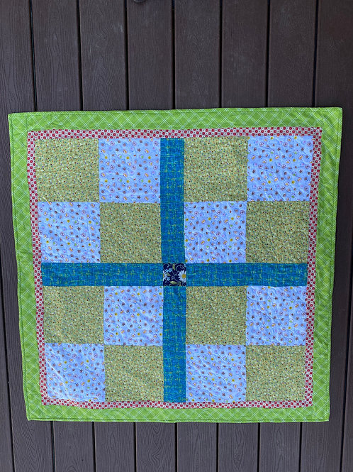 KIDS FACES BABY QUILT