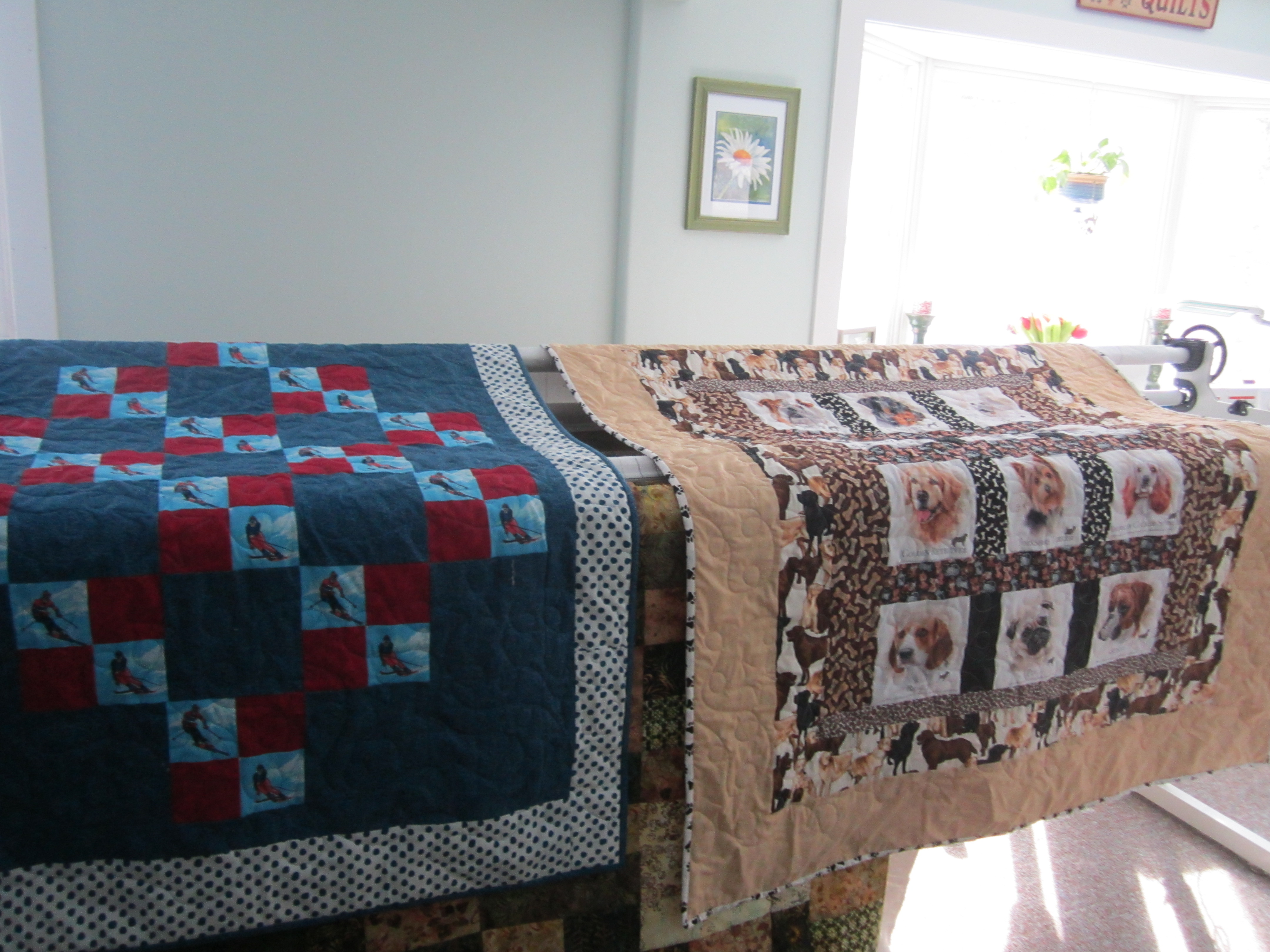 Quilted Daisy Quilts