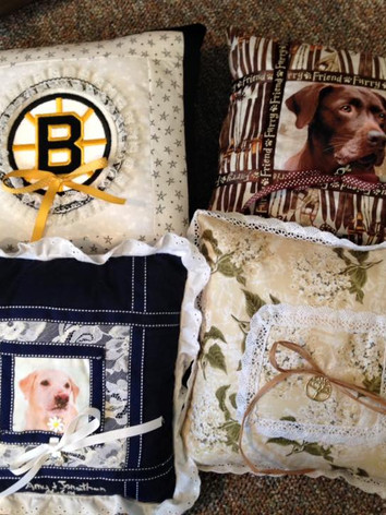 Quilted Daisy Ring Bearer