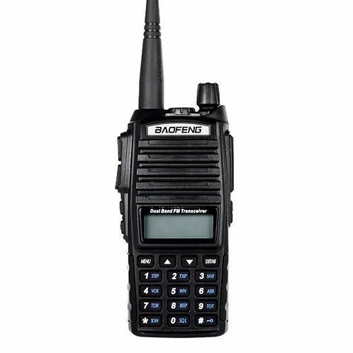 UKSN Zulu Baofeng UV-82 Dual Band UHF/VHF Two Way FM Ham Radio