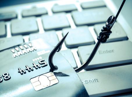 Phishing: robo de contraseñas y tarjetas de crédito por Internet