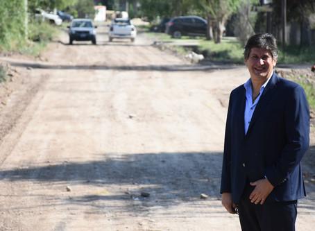 Intendencia Santacroce: comienza el asfalto en calle Golondrinas