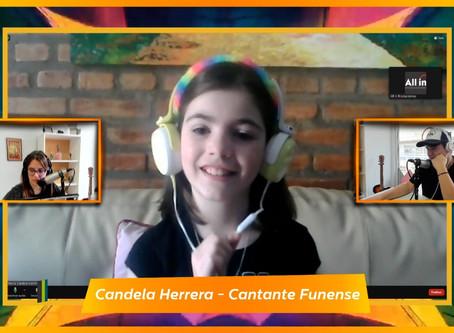 #TalentosFunes: conocé a Candela Herrera, la cantante de 10 años reconocida por Cris Morena