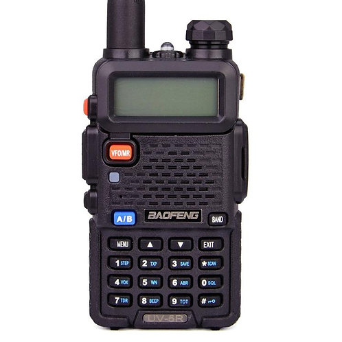 UKSN Alpha Baofeng UV-5R Dual Band UHF/VHF Two Way FM Ham Radio