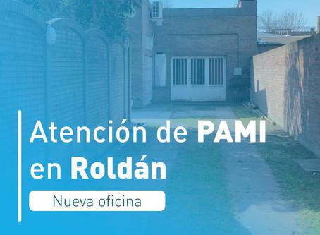 La oficina PAMI llega a Roldán
