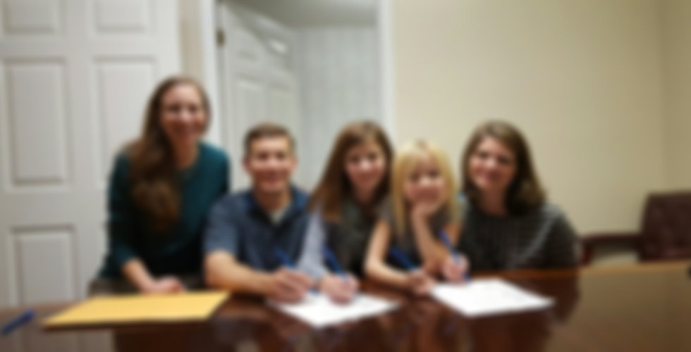 Michael family closing.jpg