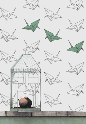 Crane Interactive Wallpaper
