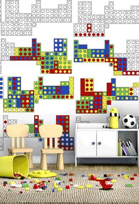 Lego Interactive Wallpaper